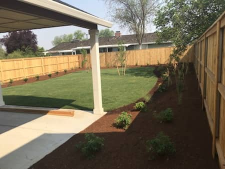 Irrigation System Landscaping Project