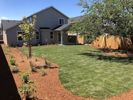 Irrigation System Landscaping in Front Yard & Back Yard