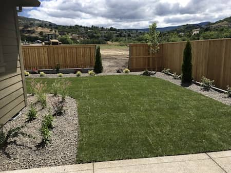 Landscaping Project In Medford At Sonoma Development