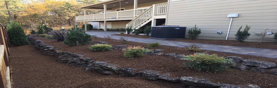 Backyard landscaping In Medford, Oregon