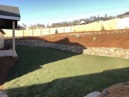 Terrace Landscaping - before and after