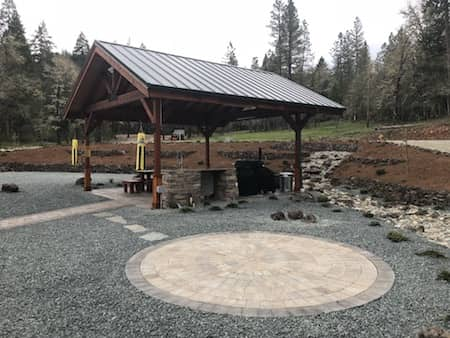Landscaping Project In Grants Pass