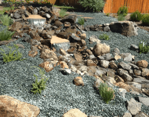 Pond, Stream, Natural Rock