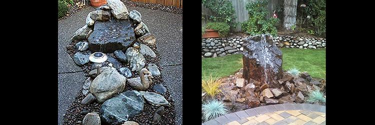 landscape custom patio