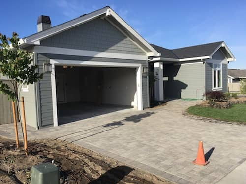 Paver Patio Drive Way