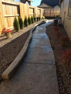 Stamped concrete In Medford Oregon