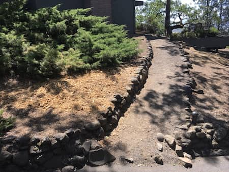 Before Photos - Hardscape In Medford Oregon