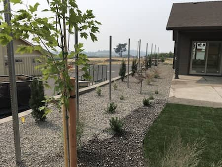 New Home Landscaping In Medford Oregon