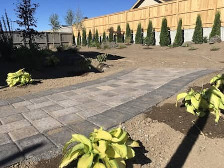 Paver Step Landscaping