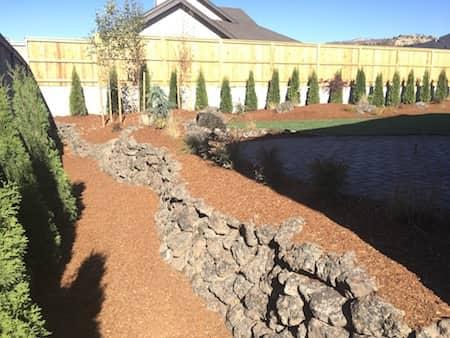 Retaining Wall - Natural Rock