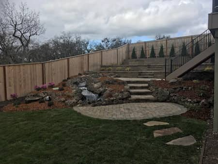 Retaining Wall - Brick