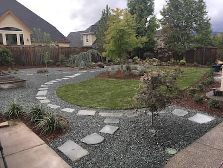 Retaining Wall - Stone Steps