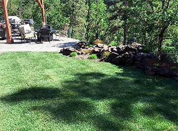 landscaping project in southern oregon