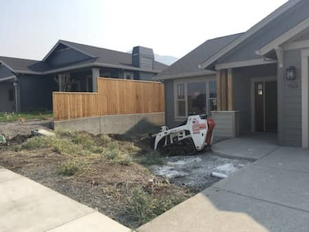 Sonoma Development Landscaping Project - Before and After Photos