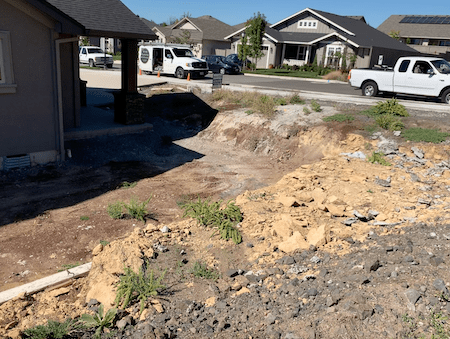 Before & After Photos Of Front Yard In Pacific Northwest