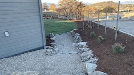 Natural rocklandscaping